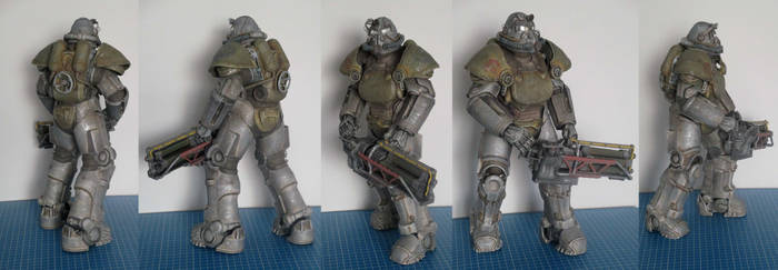 Steel Paladin of the Brotherhood