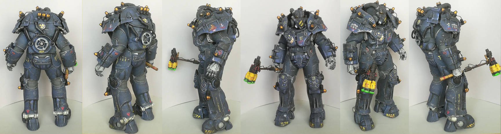 Vault-Tec Security Power Armor Papercraft