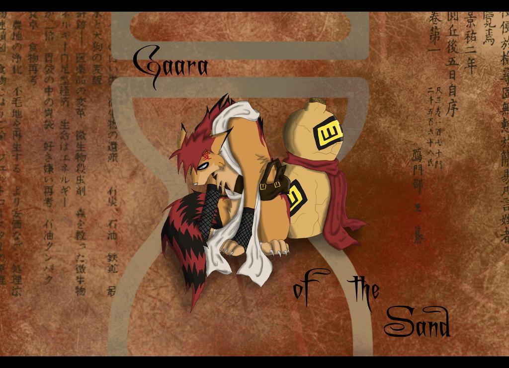 Gaara wolf Form by dacrazycat on DeviantArt Gaara As A Wolf