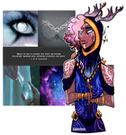 Commission [aesthetic OC] - The Oracle's Child