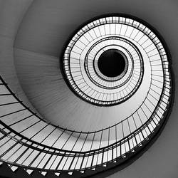 spiral stair one square by mtribal