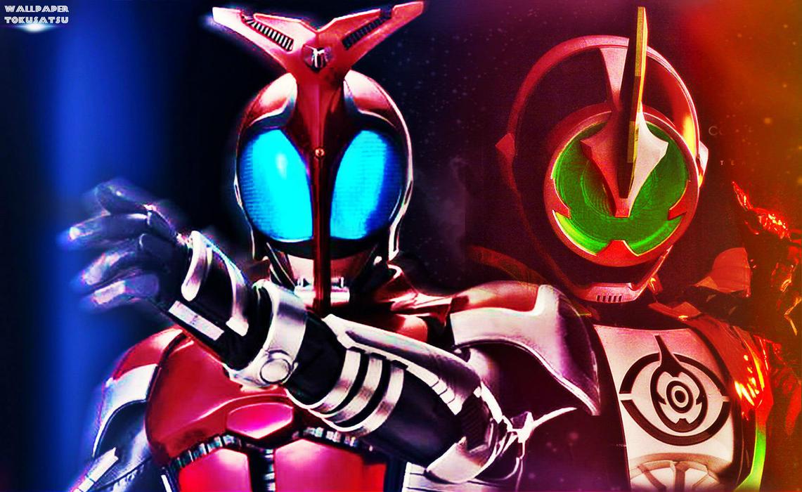 Kamen Rider Necrom: Kamen Rider Kabuto And Necrom Wallpaper By Haule0123 On