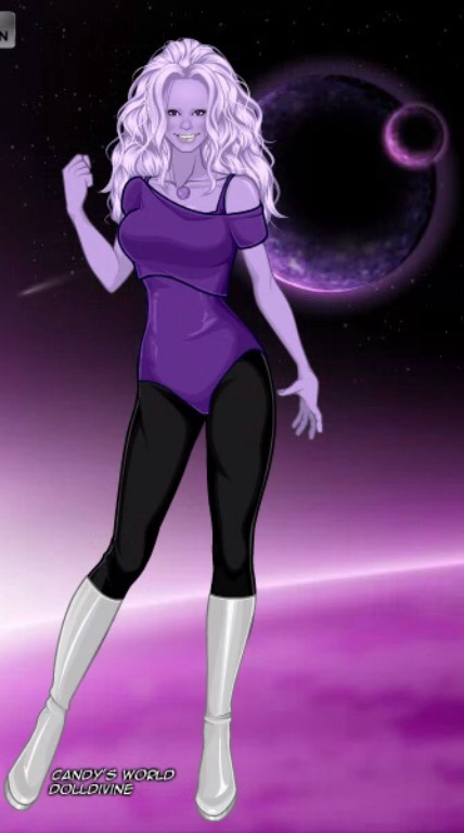 Amethyst X-Girls Style (Steven Universe) by PuddinL on