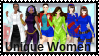 Unique Women Stamp by PuddinL