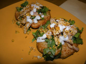 Navajo homemade fry bread by BeaWest