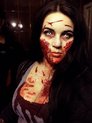 Zombie Make-up by BeaWest