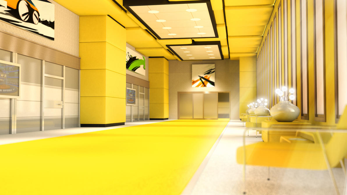 Yellow Room by segawa2580