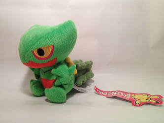 .:SOLD:. Official American Pokedoll Sceptile
