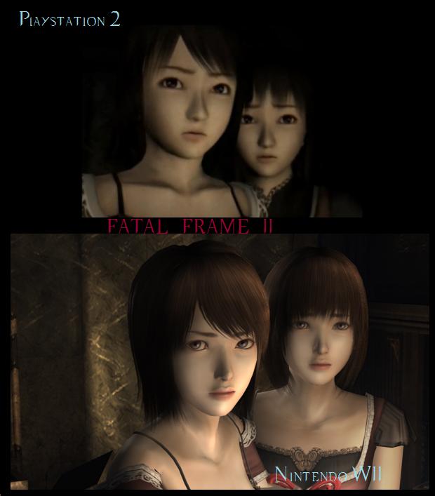 Fatal frame 2 PS2 Nintendo wii by Luffyxakaichou