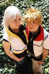 Riku and Roxas - Cosplay
