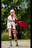 Lightning - Final Fantasy XIII by KashinoRei