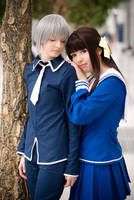 Toru and Yuki - Fruits Basket by KashinoRei