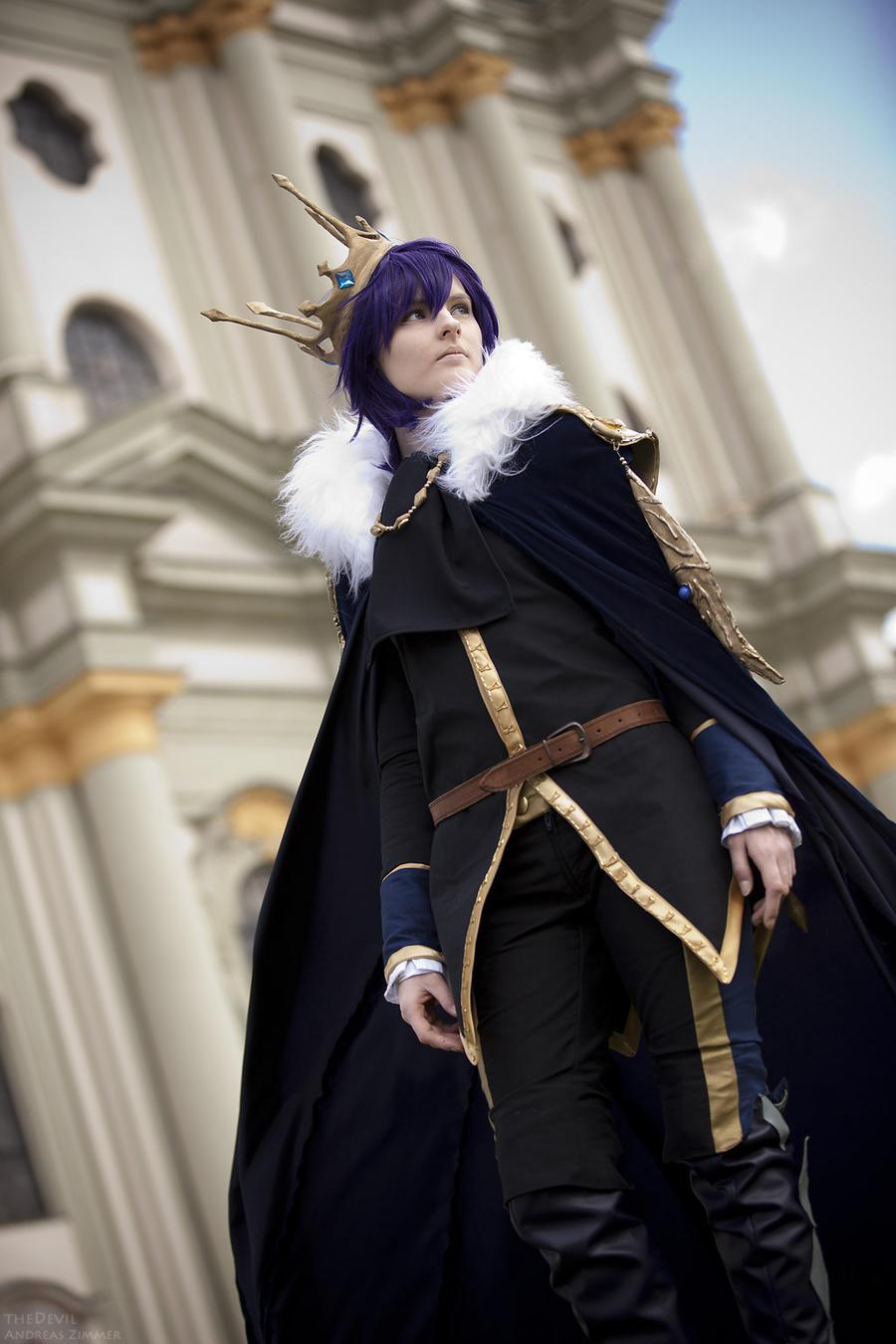 Viloftira - the Sable Prince by KashinoRei