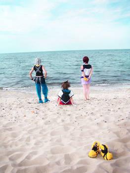 Destiny Island - the Three of us