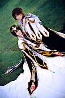 Code Geass R2 - Emperor and Knight by KashinoRei