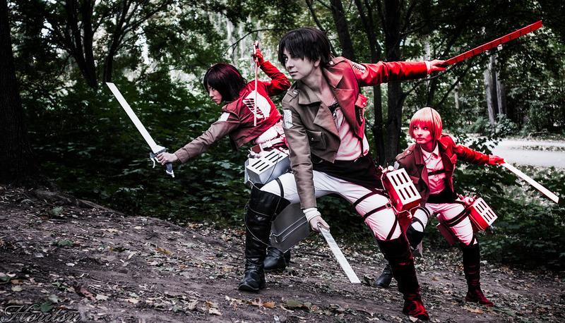 Attack on Titan - Zum Kampf by KashinoRei