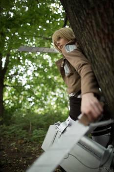 Armin Arlert - auf der Hut