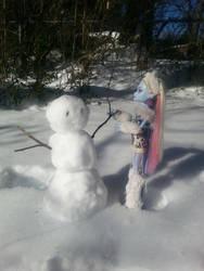 Do you wanna build a snowman? by Polka-dotPanda