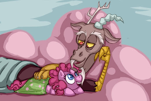 Pinkie and Discord