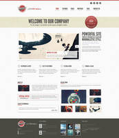 Tensor - Responsive HTML Template by GuRoNitro