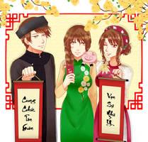 Tet - Happy Lunar New Year