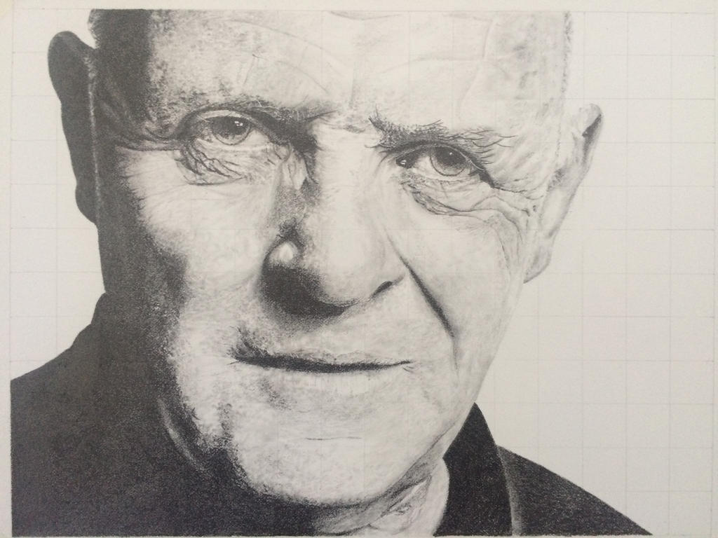 Anthony Hopkins by tagroves