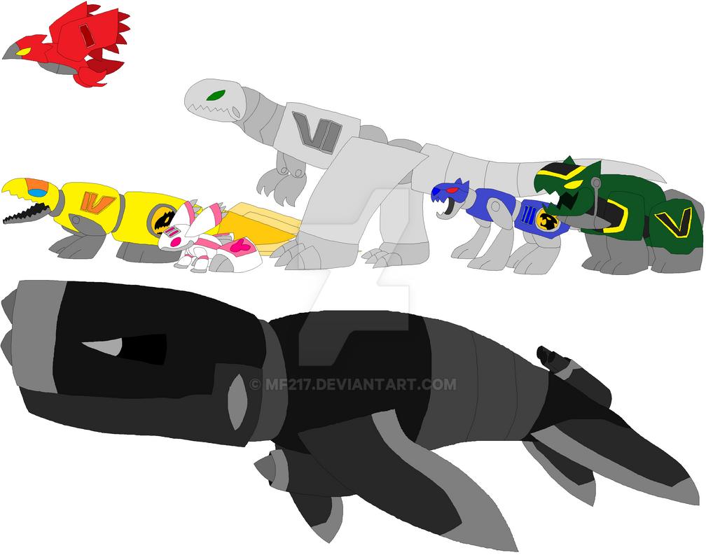 Crocodile Zord