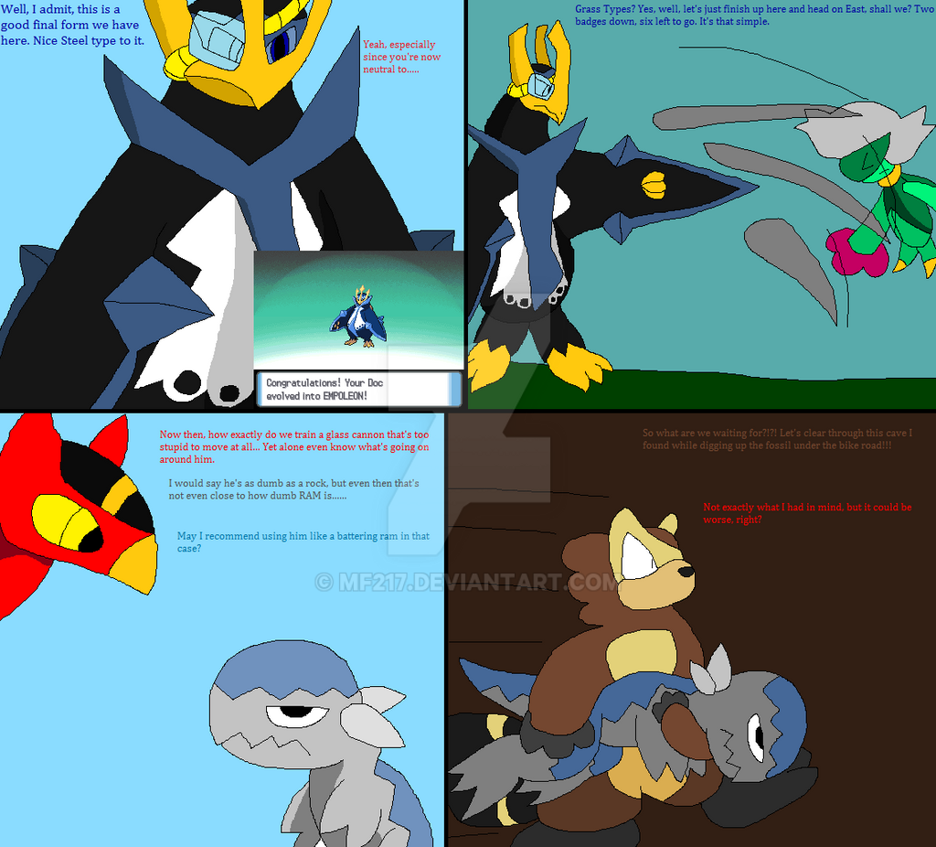 pokemon diamond nuzlocke 6 blue by mf217 on deviantart