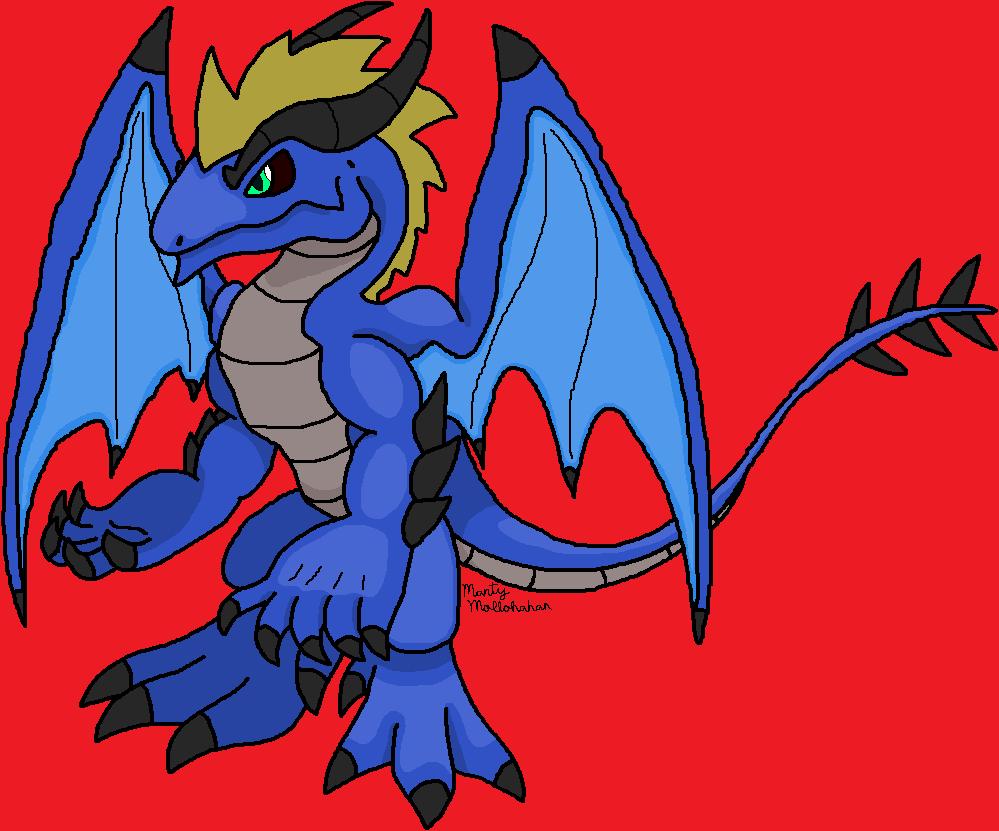 Dragon human form