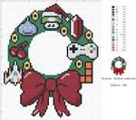 Couronne de Noel geek (Geek christmas wreath)