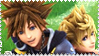 Stamp Sora Roxas by youfie