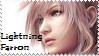 Stamp Lightning Claire Farron by youfie
