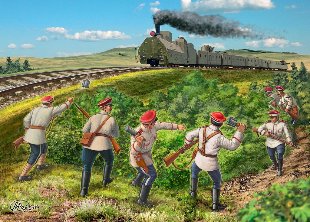 Armored Train by alexrodionov