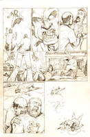 UnDead End #1 page 20. Pencils by J-WRIG