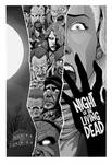 Black and White Night of the Living Dead poster