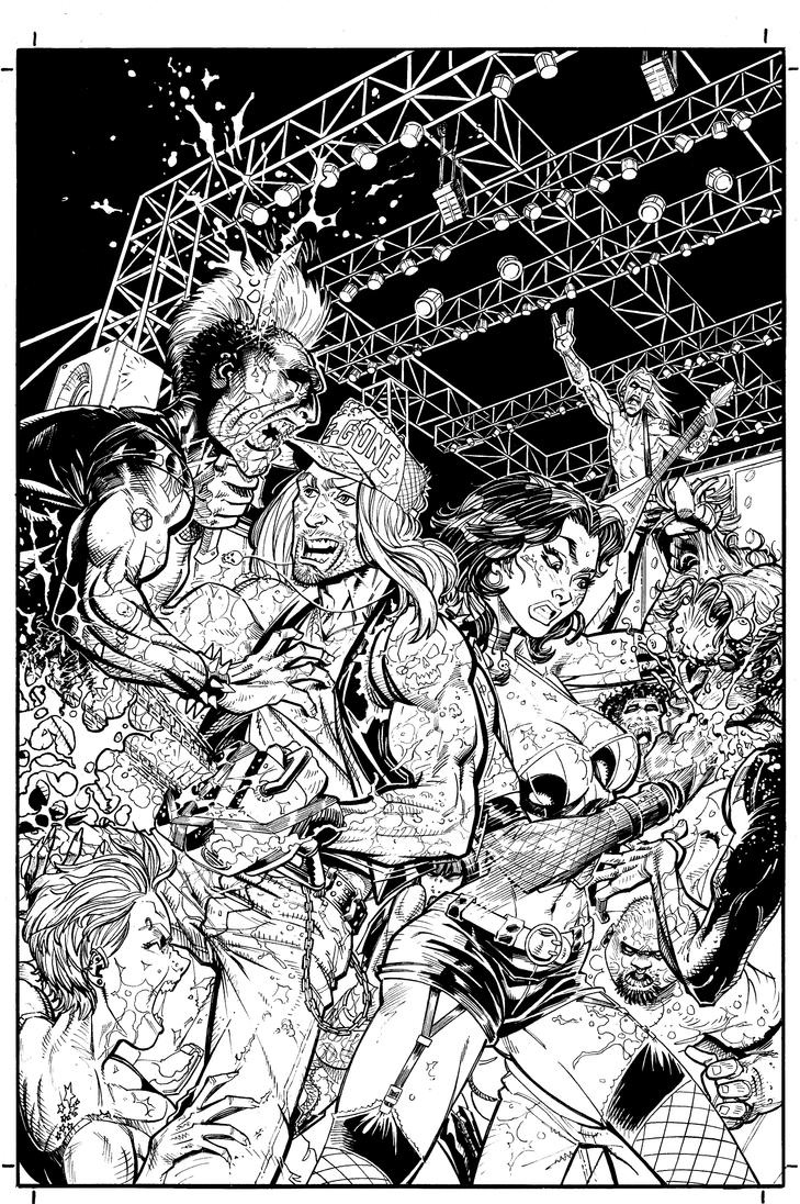 Zack The Zombie Exterminator Cover by J-WRIG