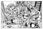 TMNT commission inks