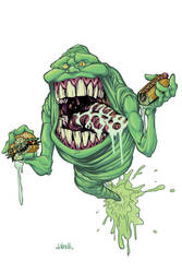 Slimer chowdown colors by J-WRIG