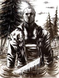 Jason Voorhees by J-WRIG