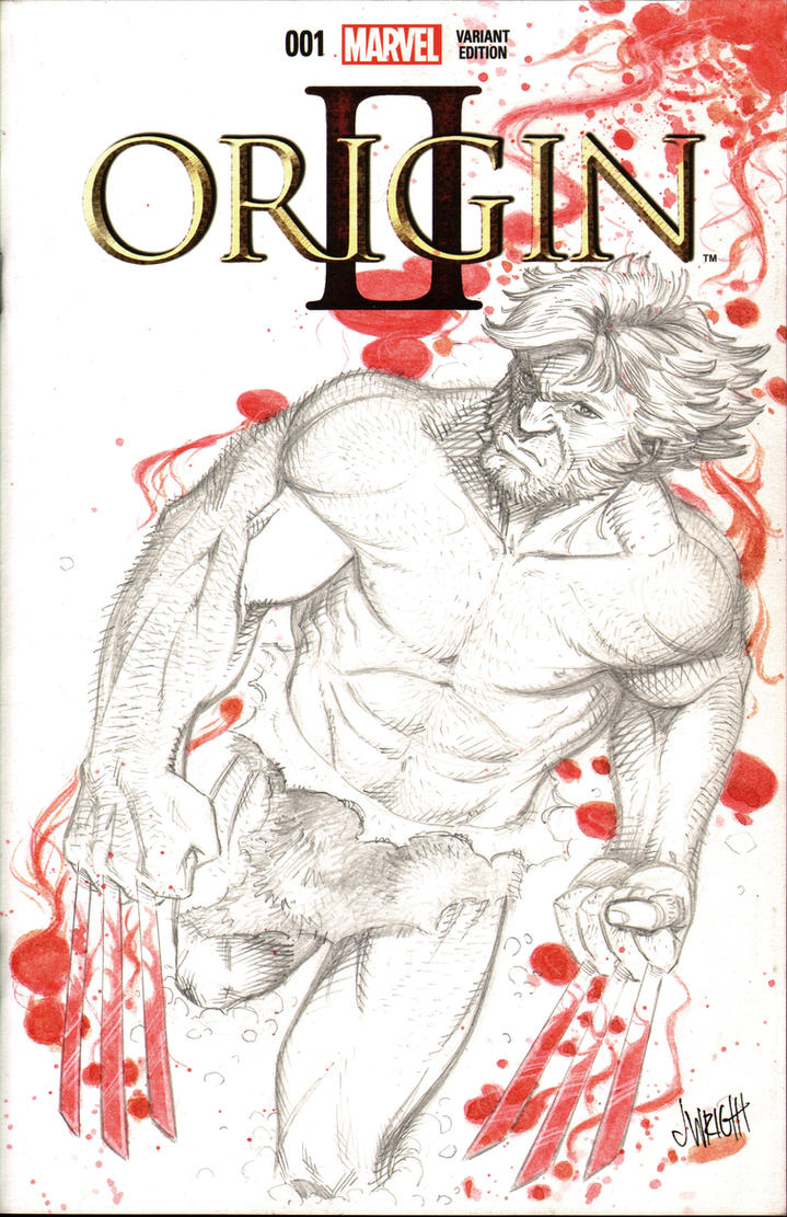 Wolverine Origin Sketch Cover by J-WRIG