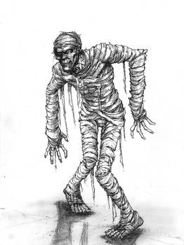 The Mummy from Monster Squad