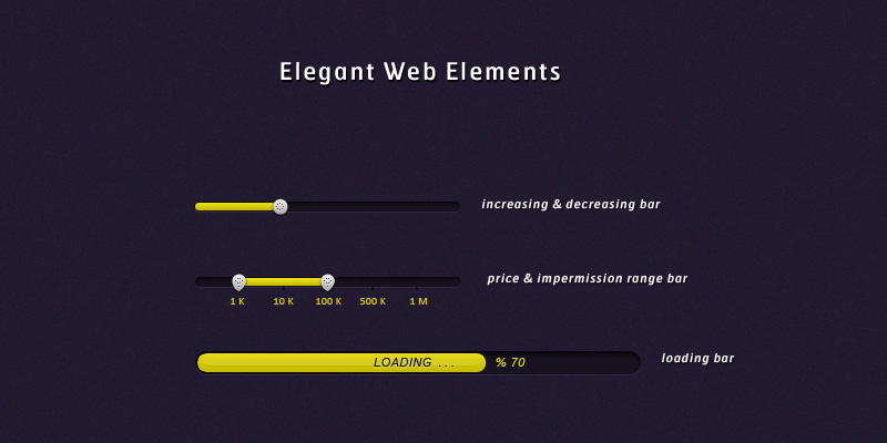 Elegant Web Elements by SuTegin