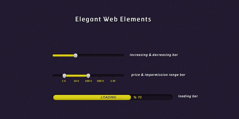 Elegant Web Elements by SuTegin