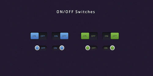 Clean ON-OFF Switches