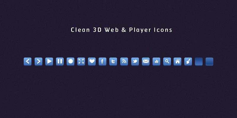 3D Web Icons by SuTegin