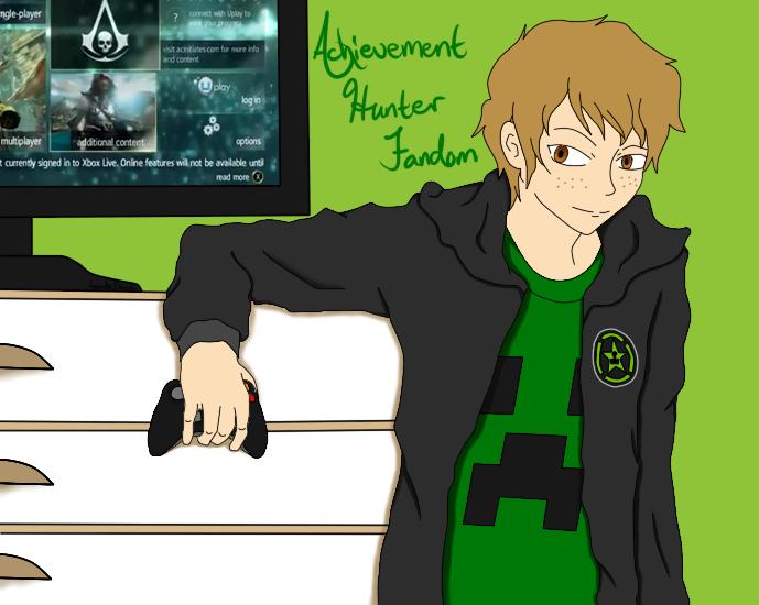 Achievement Hunter Fandom by IcelandsOtaku