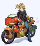 Metroid Motorcycle