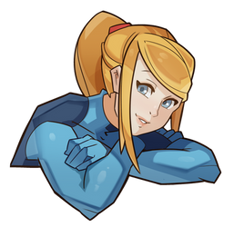 Metroid, Samus by SplashBrush