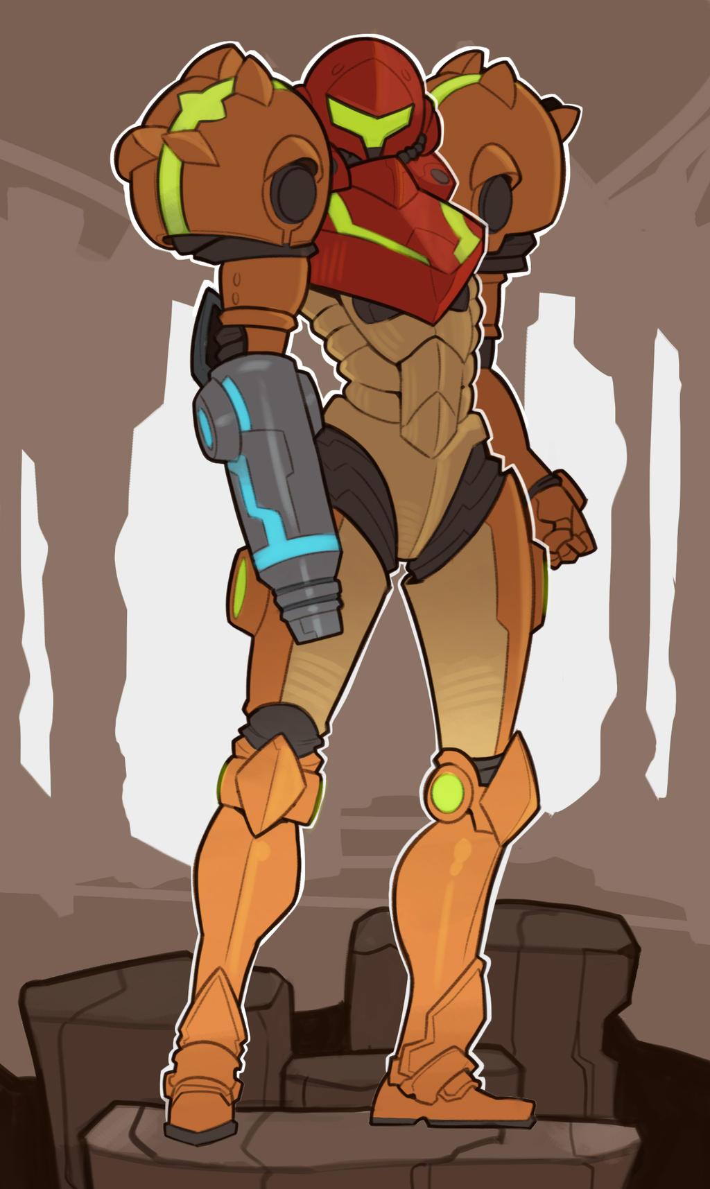 Metroid By Splashbrush On Deviantart