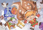 League of Legends, Poppy, Lulu and Tristana